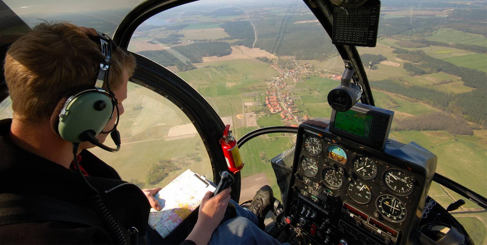 Piloter un hélicoptère