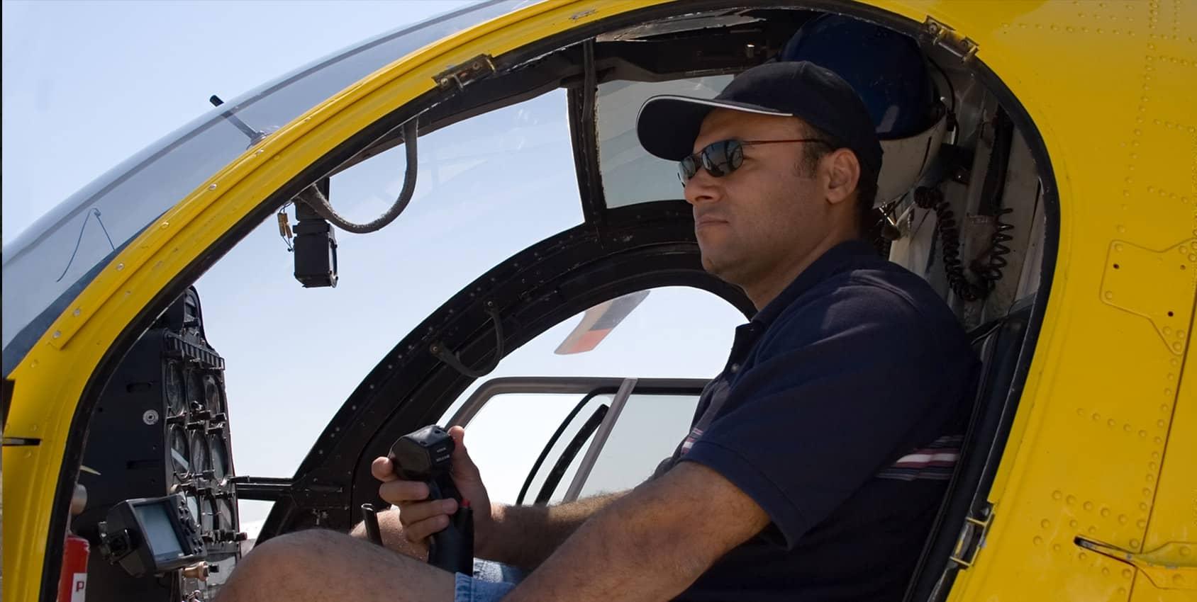 Formation pilote d'hélicoptère
