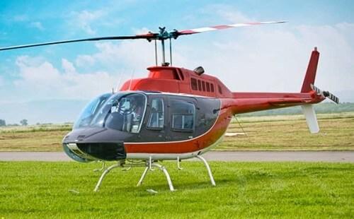 Hélicoptère Bell 206