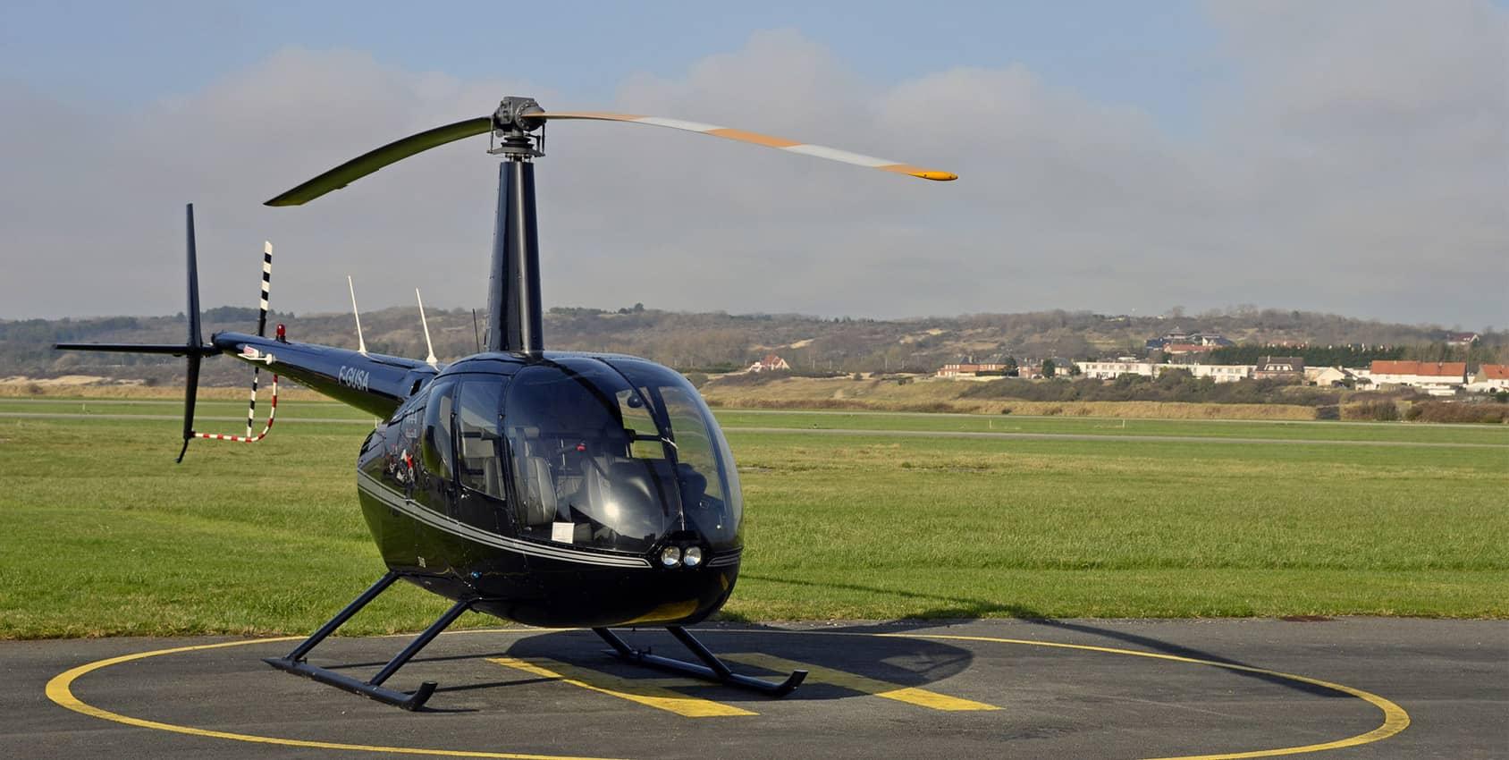 Hélicoptère Robinson R4