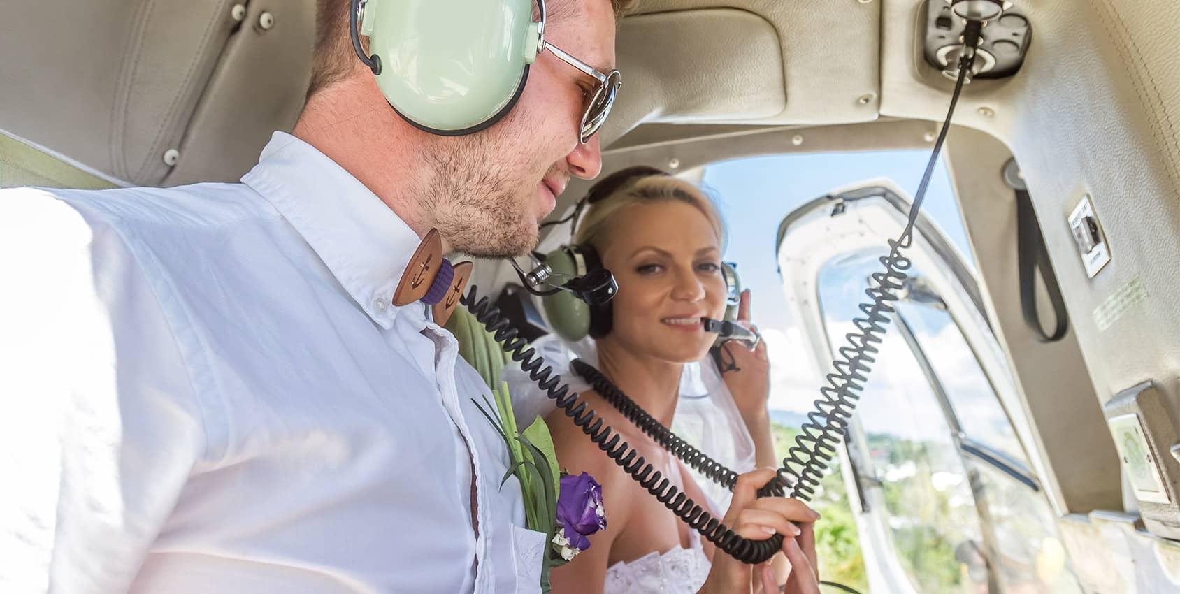 votre mariage en hélicoptère